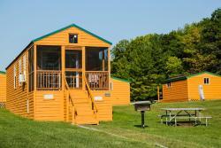 Plymouth Rock Camping Resort Deluxe Cabin 17, N7271  Lando Street, 53073, Elkhart Lake