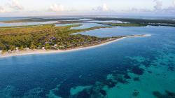 North Beach Island - Barbuda, Codrington Village,, The Caves