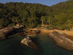 Sítio Itaguaçú, Praia de Itaguaçú, 55 - Ilha Grande, 23968-000, Praia Vermelha