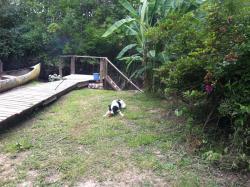 Aracataca - la casita del tigre, Rio Lujan, Dique Lujan, 1625, Dique Luján