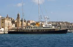 Seagull II Luxury Historic Static Charter, Birgu Grand Harbour Marina , BRG 1721, Birgu