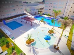 Apartamento Encontro das Aguas Gold Resort, Avenida Caminho do Lago 4, 75690-000, Caldas Novas