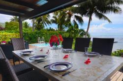 Maharepa Beach Villa, Sea side ., 92663, Moorea
