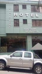 Villa Real San Felipe de Austria, Calle San Felipe 678, entre La Plata y Soria Galvarro,, Oruro