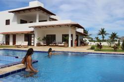 Casa Palma Azul de praia com piscina, Rua Guagiru, 59584-000, Touros