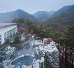 Dukgu Oncheon Hotel, 924, Deokguoncheon-ro, Buk-myeon, 36307, Uljin