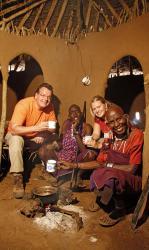 Olpopongi Maasai-Village, Tingtinga,, Tinga Tinga