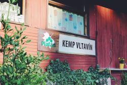Chatový kemp Vltavín, Fišerák ev.č. 51 kemp se nachází mezi Týnem nad Vltavou a Neznašovem, 375 01, Těšínov