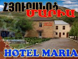 Maria Hotel, Arshavir Melikyan 3, 3801, Vayk'