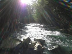 Cabañas Rio Celeste, cabaña contiguo al puente rio celeste,, El Achiote
