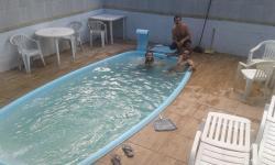 Casa Mobiliada com Piscina em Manguinhos Serra ES, Rua Bambu, 3, 29173-032, Manguinhos