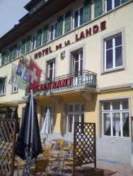 Hotel de la Lande, Place de la Lande, 1348, Le Brassus