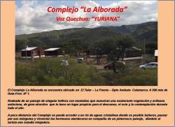 Complejo La Alborada, Autopista RP1 Departamento Ambato, 4711, La Puerta