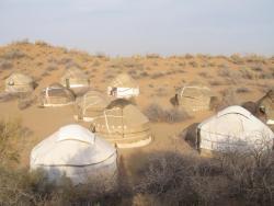 Almagul Yurt Camp, Ayakagytma village, 201104, Turkmen-Kuduk