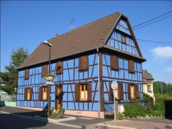 Chambres d'hôtes La Maison Bleue, 50 rue Principale, 67240, Kurtzenhouse