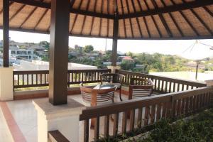 מרפסת או טרסה ב-The Bali Bagus Villas