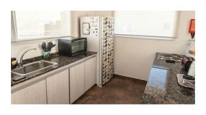 Una cocina o kitchenette en Casa Ba Haus