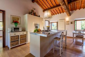 Una cocina o kitchenette en Il Platano