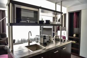 مطبخ أو مطبخ صغير في غودمانز ليفينغ