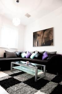 אזור ישיבה ב-Grandmore Apartments Berlin Mitte