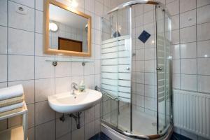 Phòng tắm tại Apartments Markež