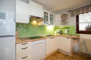 Nhà bếp/bếp nhỏ tại Apartments Markež