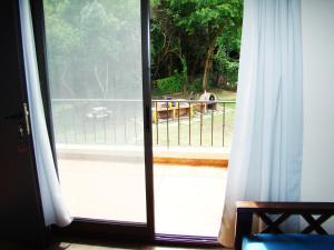 Un balcón o terraza en Apart Entrepiedras