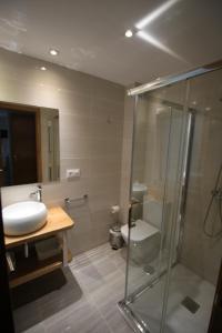 Phòng tắm tại Apartamento La Paz
