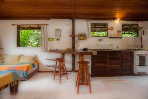 מסעדה או מקום אחר לאכול בו ב-Shanti House Apart