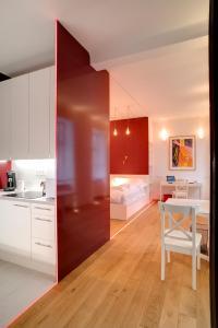 A cozinha ou cozinha compacta de Romeoapartment 1160