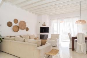 אזור ישיבה ב-Rafaela Apartments