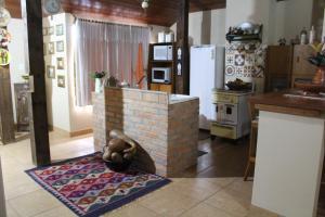A cozinha ou cozinha compacta de Loft São Joaquim