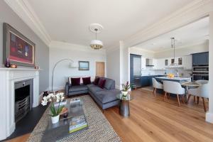 Khu vực ghế ngồi tại 30B The Scores - 2018 luxury sea view apartment