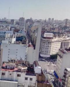 Una vista aérea de Microcentro Buenos Aires-Obelisco