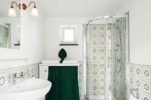 Phòng tắm tại La Dimora