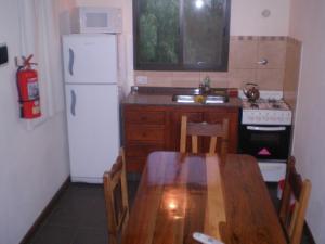 Una cocina o kitchenette en Barranca Del Indio