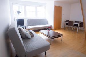 """Uma área de estar em Paddington Gorgeous """"Mews House"""" in Central London"""
