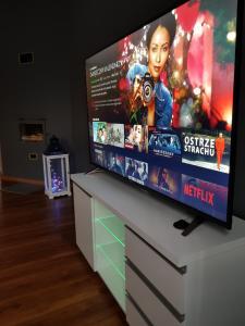 טלויזיה ו/או מרכז בידור ב-Apartament Premium WHITEGRAY Studio