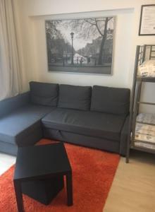 אזור ישיבה ב-The Hague Shortstay