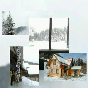 Apartment glamping house Maruša trong mùa đông
