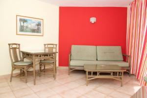Un lugar para sentarse en Apartamentos Morasol