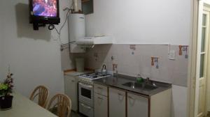 Una cocina o kitchenette en Isla de los Pajaros