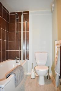 Um banheiro em 1 Bedroom Central Flat
