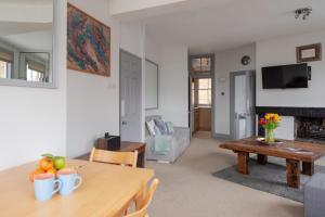 منطقة جلوس في The View Apartment, Hampstead