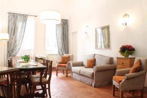 Un lugar para sentarse en BorgoDeiGreci Apartments