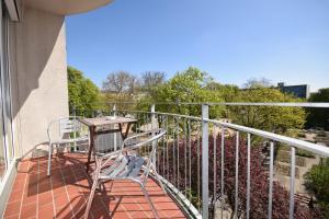 Un balcón o terraza en Berlin Habitat
