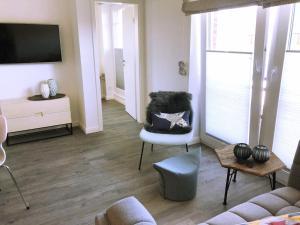 Uma área de estar em lille stuuv @K1-Sylt