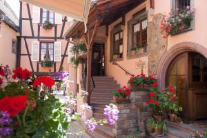 Chambres d'hotes La Griffe à Foin au Restaurant Raisin d'Or Mittelbergheim