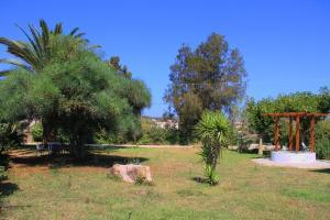 Un jardín fuera de Ilias Apartments