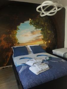 Cama ou camas em um quarto em Moonlight